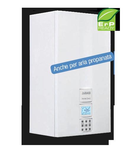 Le caldaie Inovia Cond E SV offrono tutti i vantaggi dell'innovativa tecnologia della condensazione